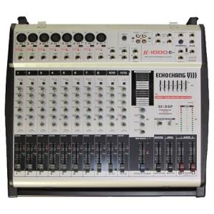 پاورمیکسر صوتی اکوچنگ K1000Plus